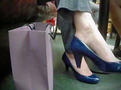 Candid Shoeplay
