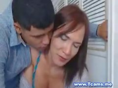 Guy Can't Get Enough of His Tranny Girlfriend