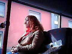 public masturbation in bus and train