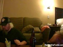 Detrás de las escenas de diversión con Samantha y Jayden