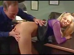 She fucks her boss part 1
