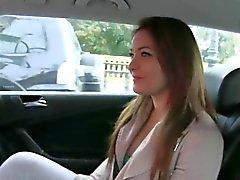 Perforadas de aficionados coño jodido de de taxi