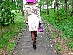 yüksek topuklu yürümek