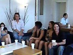 Cute amazing gals get pounded
