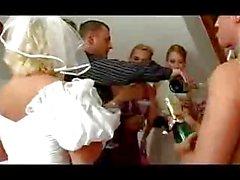 Orgia de Festa de Casamento