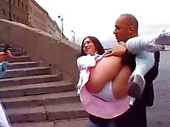 Russian babes get their holes fucked