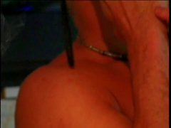 Teen slut banged on the couch