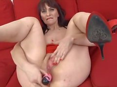Euro Mature Enjoys Anal Black Cock