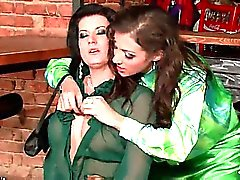 Lesbian bar scene