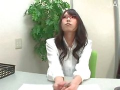 Japanese slut wanking guy dick 2