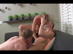 Muscular Raw Threesome