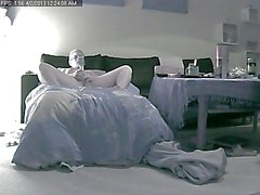 Wife home Alone on hidden Ip Cam part 2