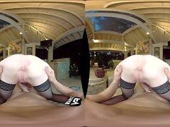 Hot Redhead Fucks Her Boss! (VR)