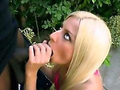 Blonde Jessie Volt takes anal pounding