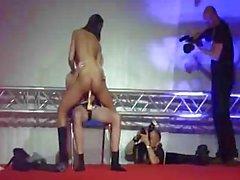 Striptease in public d'Angel dark
