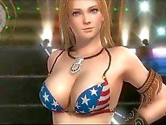 Kokoro & Tina Armstrong 3D Sex Compilation
