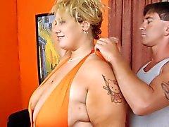 Blonde BBW - Femdom