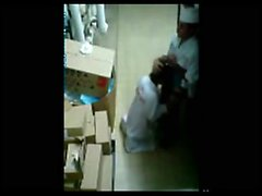 Recording Bakery co workers Through the Security-Cam