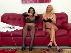 Hot and Sexy Missy and Spencer LIVE!