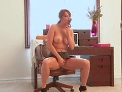 Michaela Michelle is an office secretary who will never live a day without an erotic masturbation at her desk