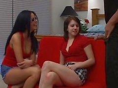 Eva Angelina & Lexi Belle - Sperma Spiel mit mir 4
