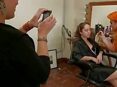 Bound gangbang kink first time dp (double penetration) (behind the scenes)