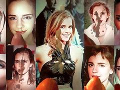 Emma Watson - compilación de mi semen tributos 4k x18