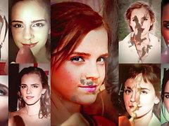 Emma Watson - compilation de mon sperme hommages x18 4k