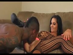 Hot Milf Latina Takes Big Black Cock Visit wwwSuperHornyMilfscom for Part 2