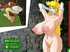 Hentai gioco di sesso principessa del Pesca tratta di un prisioner ( per Nintendo )