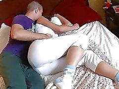 Hot babe recebe corpo acariciado