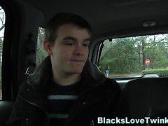Jizzy twink rider svart