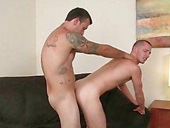 Str8 ragazzo prima tempo cazzo di omosessuali interrotta da un altro tizio Str8 .