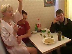 Irina and 4 guys again