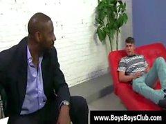 Schwarz Homosexuell Jungen demütigen weißem Twinks Fest 08