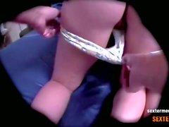 Spycam-Zwei kleine junge Teenie Moeschen