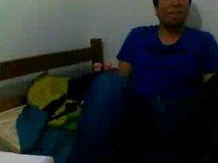 Gerade Typen Fuß über Webcam # 518
