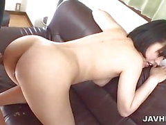 Wild unforgettable blowjob performed by Hana Harusaki