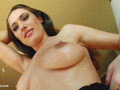 MILF hot mature lady Mely gets a nice cock fuck her
