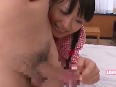 Cute Horny Japanese Babe Having Sex
