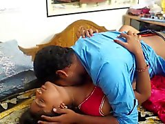 indian girl bedroom romance with her boyfriend