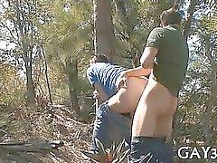 Anal - accouplement après pipes