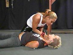 Randy fetish fucking scene