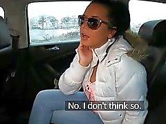 Takside sıcak 19 yaşındaki