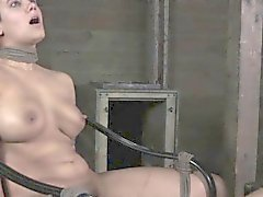 BDSM Penny Barber tormented with ice water
