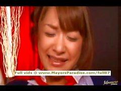 Mihiro innocent Chinese brunette gets fucked hard