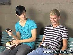 Hot sexy young gay teenage boys Kayden Daniels and Jae Lande