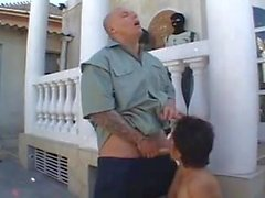 Tattooed Guy Gets Pussy