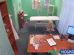 Fake Hospital Hot Italian babe with big tits has intense multiple orgasms