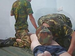 Asian Soldiers 3Way Fetish Interrogation Technique
